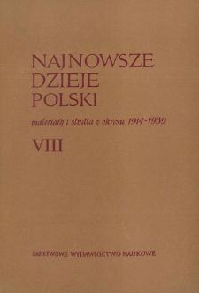 Na marginesie listu Ignacego Daszyńskiego do Norberta Barlickiego w sprawie kandydatury Jędrzeja Moraczewskiego na premiera rządu