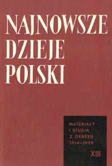 """Do Czytelników wydawnictwa """" Najnowsze Dzieje Polski"""" obu serii oraz """"Polska Ludowa"""""""