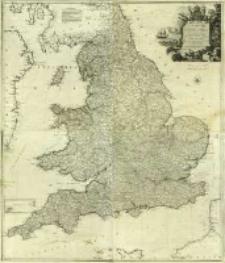 Karte von England und Wallis
