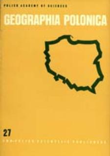 Geographia Polonica 27 (1973)
