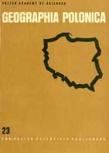 Geographia Polonica 23 (1972)