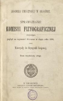 Sprawozdanie Komisji Fizjograficznej T. 32 (1896)