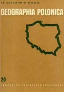 Geographia Polonica 20 (1972)