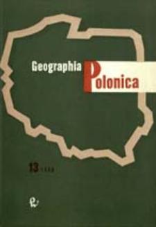 Geographia Polonica 13 (1968)