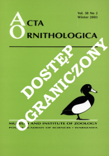 Prey selection in blue tit Parus caeruleus as a response to food levels