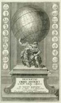 Descriptio orbis antiqvi in XLIV tabulis exhibita a Io. Davide Koelero