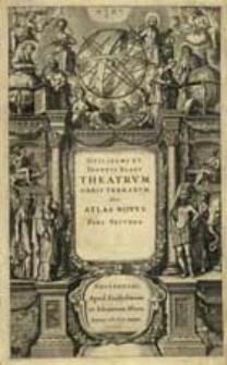 Theatrvm Orbis Terrarvm Sive Atlas Novus. Pars Secvnda