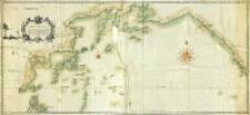 Carte de la Mer Oriental du Nord entre les Costes de l'amerique, Occidentale et celles de la Tartarie Orientale ; avec les Isles Nouvellemen decouvert dedié a Monseigneur, le duc D'aiguillon Paire de France Ministre et Secretaire d'Etat