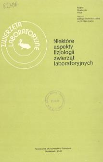 Zwierzęta laboratoryjne, Tom XVIII zeszyt 1