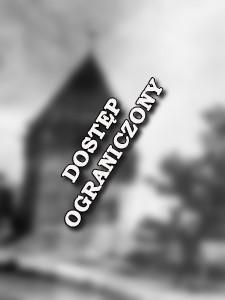 [Wieża kamienna ze stożkowym dachem] [Dokument ikonograficzny]