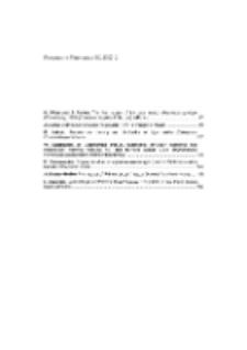 Fragmenta Faunistica - Spis treści vol. 50, no. 2
