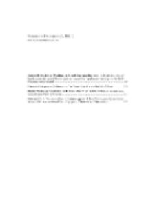 Fragmenta Faunistica - Spis treści vol. 56, no. 2