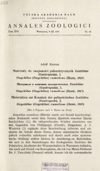 Materialien zur Kenntnis der paläarktischen Zonitiden (Gastropoda). 1, Oxychilus (Oxychilus) rumelicus (Hesse, 1913) : [Mit 3 Figuren und 1 Karte im Text]
