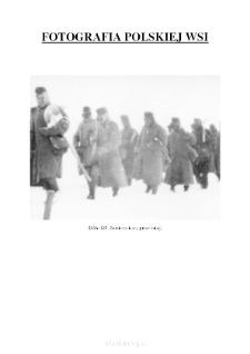 [Soldiers walking through snow] [An iconographic document]