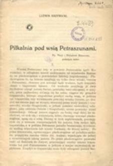 Pilkalnia pod wsią Petraszunami