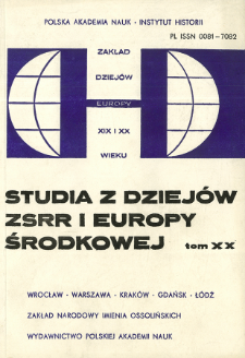 Kwestia narodowa w Rumunii w 1931 r. w raportach polskich konsulatów i poselstwa