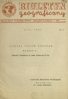 Katalog jezior polskich. Z. 1, Jeziora Pomorskie w lewym dorzeczu Wisły
