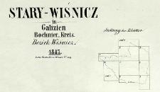 Stary Wiśnicz in Galizien, Bochnier-Kreis Bezirk Wiśnicz 1847