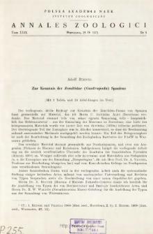Zur Kenntnis der Zonitidae (Gastropoda) Spaniens