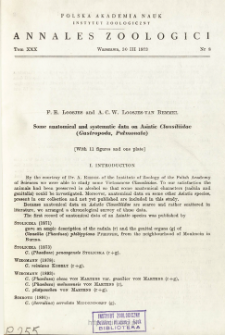 Revision der Phalangiidae (Opiliones). 1, Gattung Bunochelis Roewer, 1923