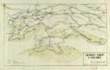 Kraków - Tatry i okolice : [mapa panoramiczna]