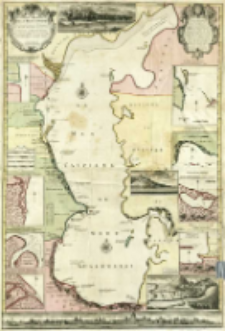 Carte Marine De La Mer Caspienne