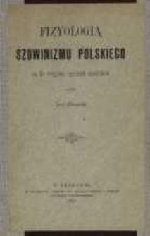 Fizyologia szowinizmu polskiego na tle rosyjsko-polskich stosunków