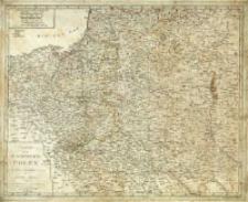 Charte vom Koenigreich Polen nach seinen ehemaligen (1773) und dermahligen Grenzen