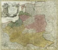 Regni Poloniæ Magnique Ducatus Lithuaniæ : nova et exacta tabula ad mentem Starovclcii[!] descripta