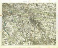 Umgebungskarte von Lemberg : im Maasse 1:75.000