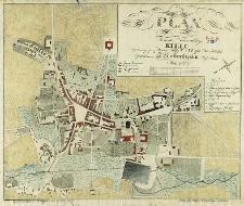 Plan miasta woiewodzkiego Kielc