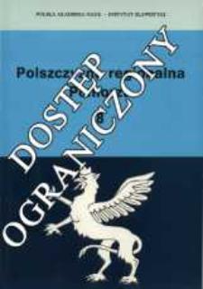 Polszczyzna Regionalna Pomorza : (zbiór studiów). T. 8 (1998)