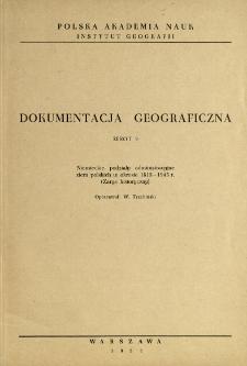 Niemieckie podziały administracyjne ziem polskich w okresie 1815-1945 r. : (zarys historyczny)