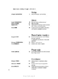 Teksty Drugie Nr 3 (2012), Spis treści