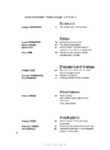Teksty Drugie Nr 3 (2012), Contents