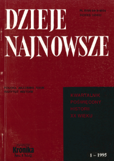Rosyjska Cerkiew Prawosławna na Obczyźnie oczyma polskiej służby zagranicznej (1920-1939)
