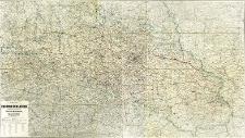 Karte der Provinz Schlesien als besonderer Abdruck aus der Karte von Mittel-Europa