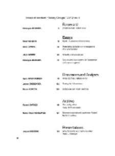 Teksty Drugie Nr 4 (2012), Index of content
