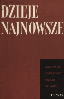 Konflikty społeczne w Polsce I połowy XX w.