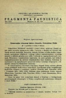 Synantropijne równonogi lądowe (Isopoda, Oniscoidea) Polski