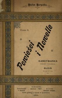 Kandybianka : powieść ukraińska ; Rudin : nowela