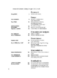 Teksty Drugie Nr 6 (2012), Index of content