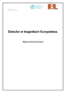 Dziecko w tragediach Eurypidesa
