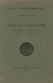 Annali della zecca di Roma. [6], Alessandro VI (1492-1503), Pio III (1503), Giulio II (1503-1513)