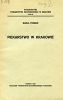 Piekarstwo w Krakowie