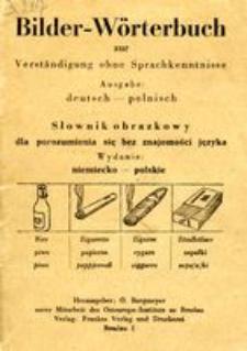 Bilder-Wörterbuch zur Verständigung ohne Sprachkenntnisse : Ausgabe deutsch - polnisch