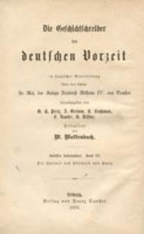 Die Chronik des Ekkehard von Aura