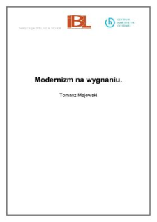 Modernizm na wygnaniu