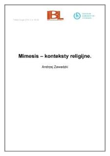 Mimesis – konteksty religijne