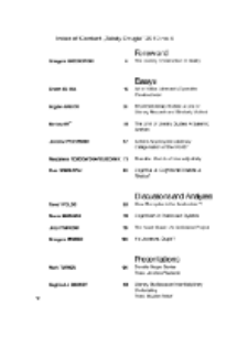 Teksty Drugie Nr 4 (2010), Index of content